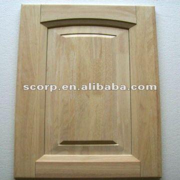 Kitchen Cabinet Door Species Rubber Wood 5 Pcs Structure Insert
