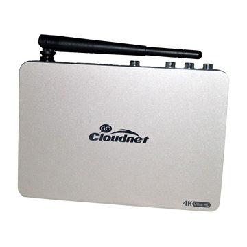 China Cloudnetgo Metal Case 4k Tv Box Rk3368 Ubuntu Andr