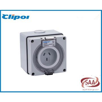 Australia Standard SAA weatherproof industrial socket outlet 3Pin ...