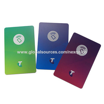 China 13 56MHz MIFARE Ultralight® C RFID Key Card for Salto