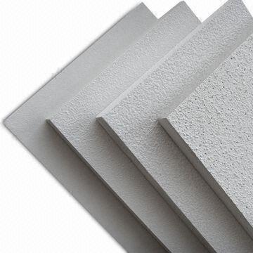 Ceiling Tiles With Mineral Fiber Acoustic Panels Suitable