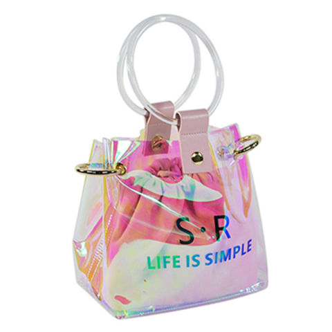 Cosmetic Tote Bag Hologram Makeup