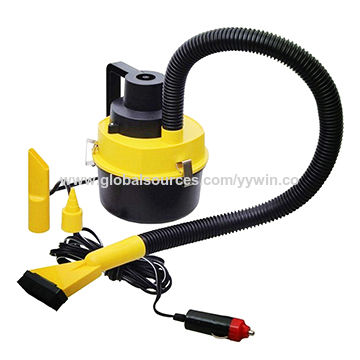 ae009217245 China Dc 12v 90W high suction powerful wet and dry car vacuum cleaner ...