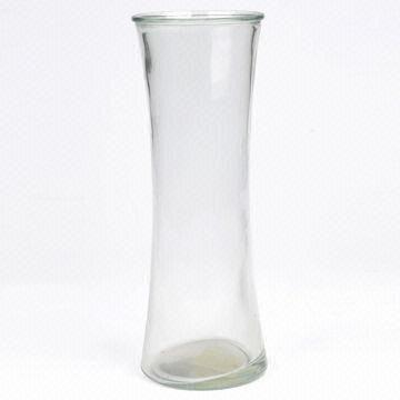 Machine Made Glass Vase Thin Waist Tall Various Shapes Are