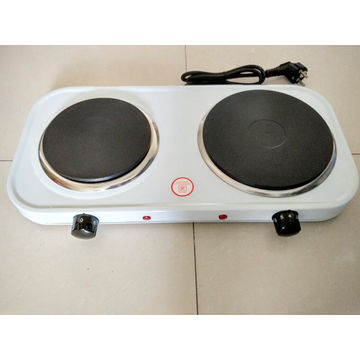 China Double Electric Hot Plate Solid Heating Element 2000w Cast Iron
