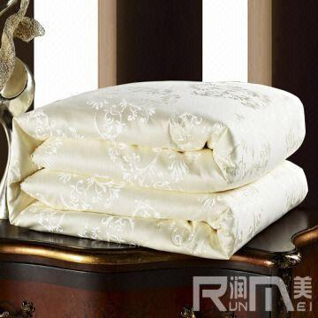 China Silk Comforter Quilt Duvet Cover 100 Cotton Satin