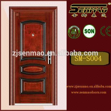China Cheap Price Fire Rated Steel Security Door,House Front Door  Design,Paint Colors