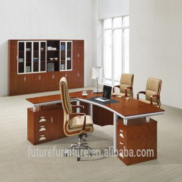 China Unique Executive Desk Walnut Wood Large 2017
