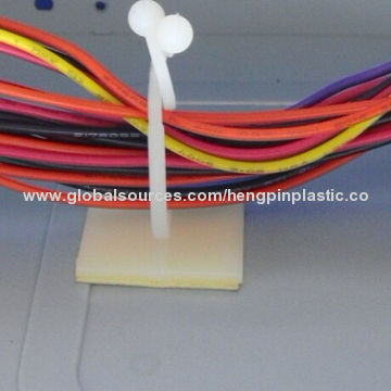 Nylon Cable Wire Clip, Curly Lock on Adhesive Base, Cable Wire Mount ...