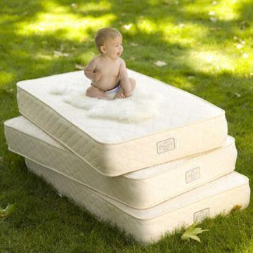Natural Mat LATEX Organic Baby Crib Bed Mattress, Luxury Latex