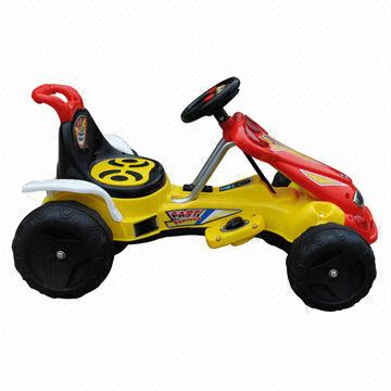 Battery Powered 4 Wheel Bicycle For Children With Music And Flash