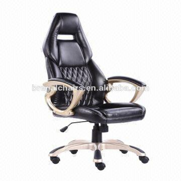 Best seller Black Porsche Racing Office Chair In Anji Huzhou 1) PU  upholstery 2)
