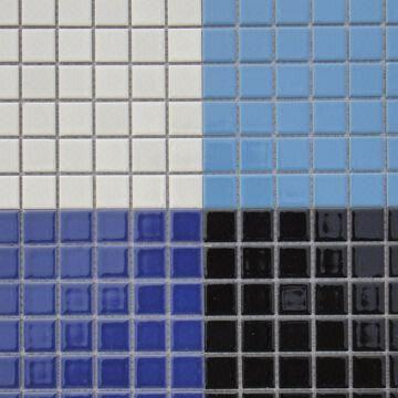 Ceramic Mosaic Tiles Measures 23 x 23mm Comes in BlueWhite