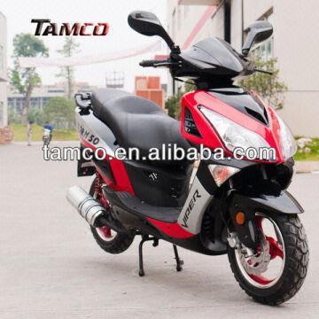 Hot New Eec/dot Yb50qt-15n 50cc Chinese Scooter