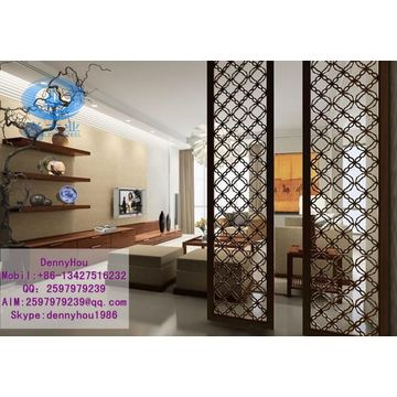 Golden Decorative Stainless Steel Room Divider Screens Partitions For Interior  Decoration