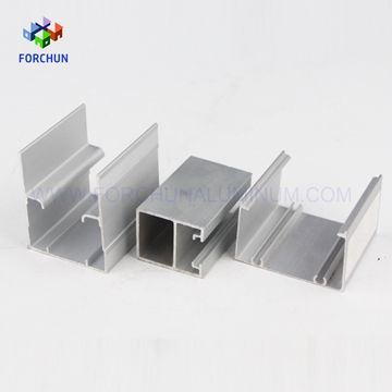 6063 T5 silver anodized extrusion alloy aluminum profile price for ...
