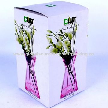 Chinacardboard Box For Flower Vase Recyclable Paper Box On Global Sources