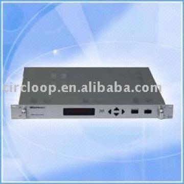 MPEG-2/DVB multichannel audio encoder and Multiplexer 4