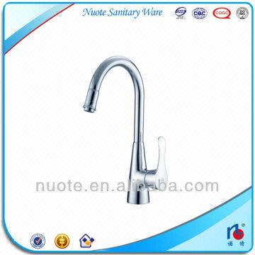 1)Description:brass kitchen sink water tap 2)Brand name:Nuote 3 ...