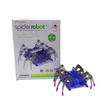 AITREASURE DIY Spider Robot Building Kits, Assemble