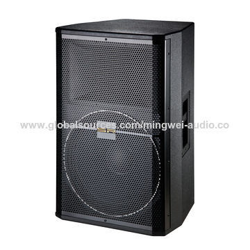 China 15-inch big power high quality professional passive pro speaker stage audio systems