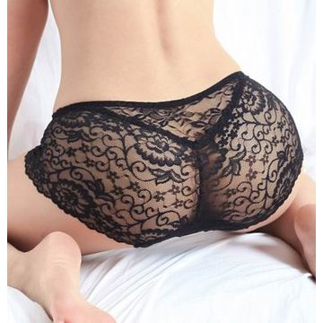 Black boy shorts underwear for women sexy