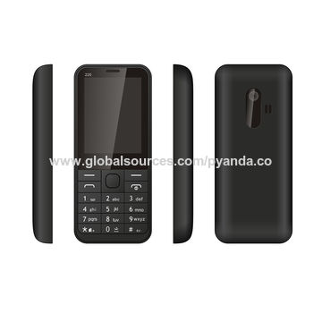 China Low-end 2.4-inch GSM mobile phone, quad band dual SIM feature cell phone