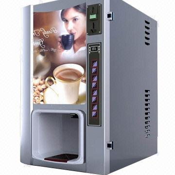Gourmet coffee vending machine