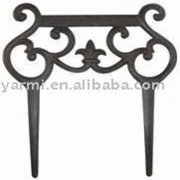Metal Craft Garden Fence 1gift Crafts 2antique Design 3cast