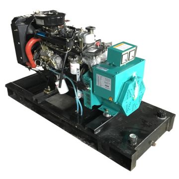 15kw diesel generator price with china engine 4 cylinder brushless
