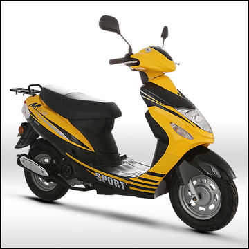 China 2017 EURO4 Cheapest Popular Model Sun3 Gas Scooter with eec homologation