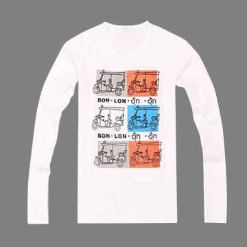 4e46794ad0c China Men s Latest Fashion and New Design T-shirt with Long Sleeves ...