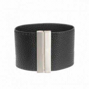 China Hipanema Leather Bracelet With Magnetic Clasp