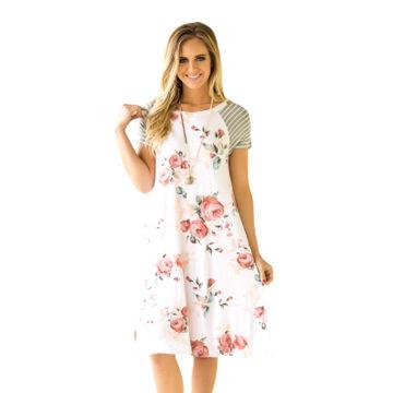 Loose Polyester Dress