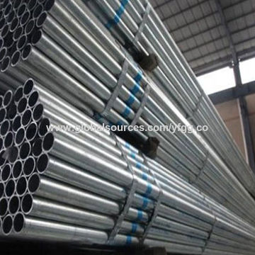 China ASTM A 53 hot-dip galvanized steel pipe for fence post