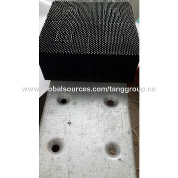 """China Bristle 1.6"""" Poly Round Foot, in Black, for S91 GTxL/GT5250/GT7250, Gerber Cutter"""