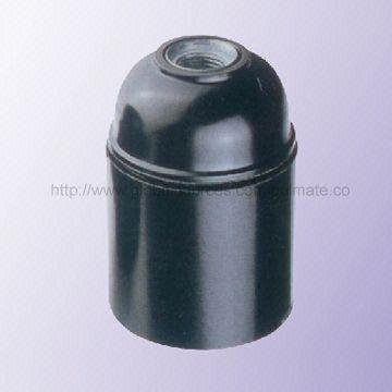 China E27 Bakelite/Phenolic Lamp Holder/Socket with E27 Base on ...