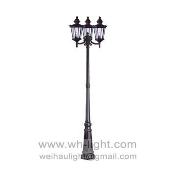 European Style Cast Aluminum Outdoor Lamp Post Global