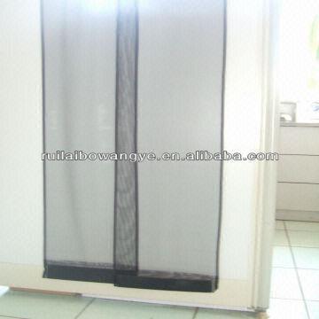 China Magnetic Patio Door Mesh Window Screen