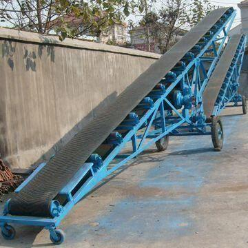 Portable Belt Conveyor, Can Move Diverse Materials, Ideal for Moving