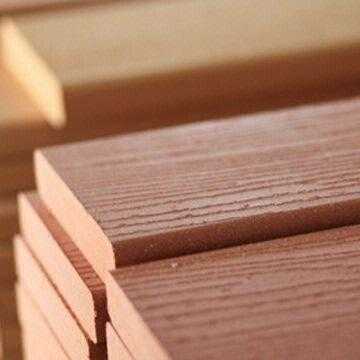 Wood Composite Flooring wooden polymer composite flooring, made with hdpe and wood fiber