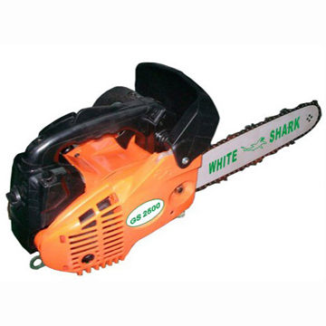 Mini Chainsaw with 25cc Displacement, 25:1 Fuel/Oil Mixture Ratio