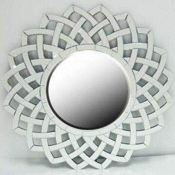 Decorative Round Wall Mirror with Smooth Polished Edge | Global ...