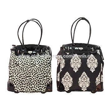 ladies trolley handbag