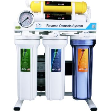 Taiwan 6 Stages Under Sink Reverse Osmosis Home Drinking RO Water  Purification System Machine Unit PG650AG
