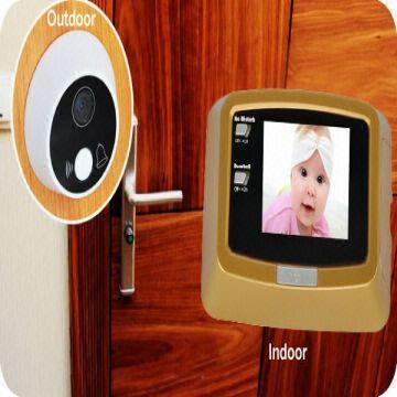 Exceptionnel ... China Hotel Door Bell System Digital Door Peephole Viewer Security  Camera
