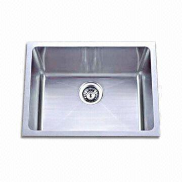 Handmade Stainless Steel Kitchen Sink with Thickness of 1.2mm ...