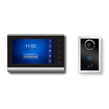 3-Room Wireless Video Intercom Doorbell With 3-Large Touchscreen -  UnikCCTV.Com