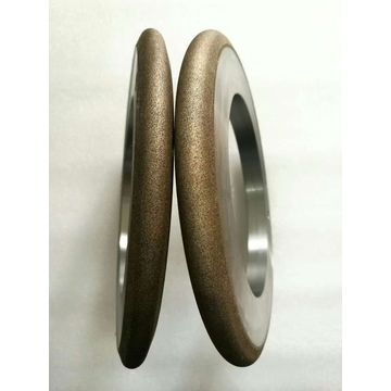 China Metal bond diamond wheel for carbide roll ring