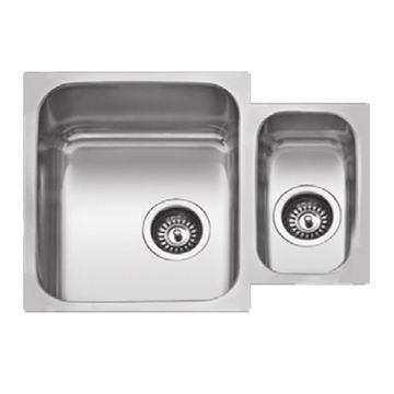China 1 1/2 bowl undermount kitchen sink on Global Sources